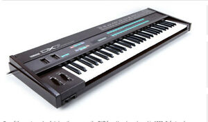 Yamaha DX7 Synth with Grey Matter extra board.