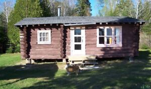 FOR SALE MATTAGAMI LAKE LOG CABINS, MUST SELL