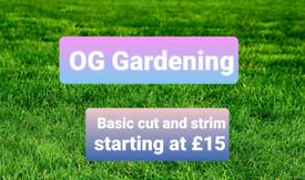 Grass cutting service