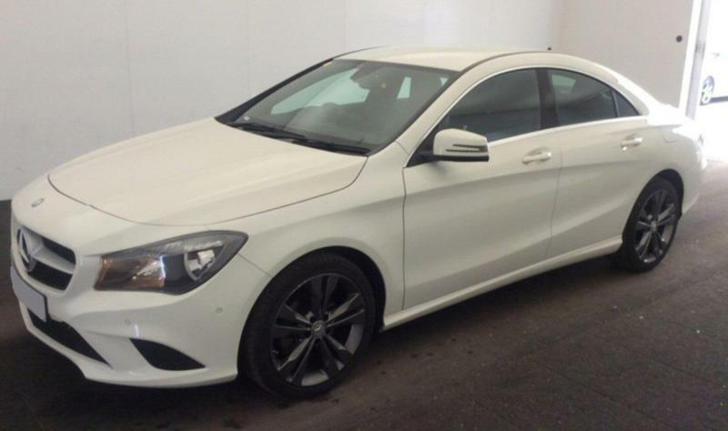 Lovely 2016 WHITE MERCEDES CL180 1.6 SPORT PETROL AUTO COUPE CAR FINANCE FROM 62  P/WK | In Warrington, Cheshire | Gumtree