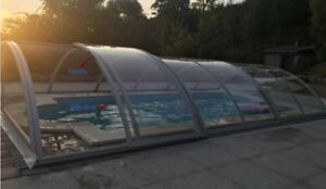 Selling a tall pool enclosure or green house