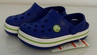 Crocs Crocband Mädchen (crocs Kinder Jungen Mädchen Schuhe Clogs crocband Kids Blau NEU)