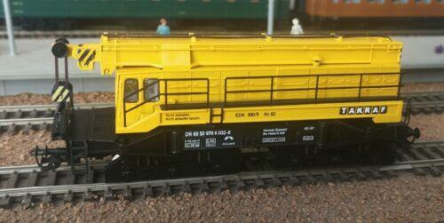PERESVET 4231 - Railway Crane / Eisenbahndrehkran EDK 300/5 DR Ep.IV TT 1:120