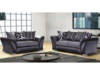 Luxury Diana 3 & 2 Fabric Suite **Free Delivery**