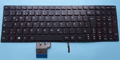 Tastatur Lenovo IdeaPad Y50-70AM-IFI Y50-70A Y50-70 Backligt Keyboard beleuchtet for sale  Shipping to South Africa