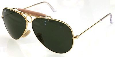 Ray ban 3138 58 Shooter or or G15 Polarized Vert Personalisé Remix (Ray Ban Polarized Or Nonpolarized)