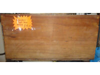 GOOD STURDY CONDITION, A NICE WOODEN TOOL BOX