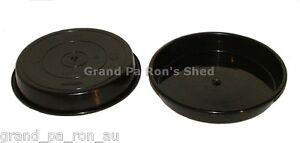 200mm Black Plastic Pot Plant Saucer Pack 10