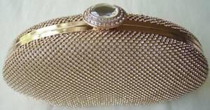 Gold Evening Clutch / Handbag #EVC07