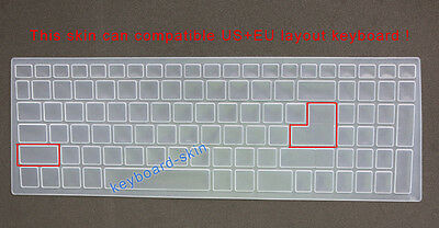 Keyboard Skin Cover Protector for Acer Nitro AN515-51 N17c1