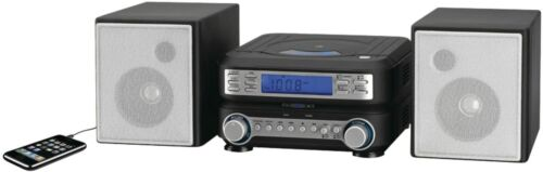 HC221B GPX Compact CD Player Stereo Home Music System with AM/ FM Tuner NEW