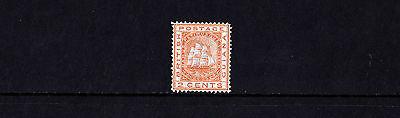 British Guiana - 1876-79 2c Orange - Mtd Mint - SG 127