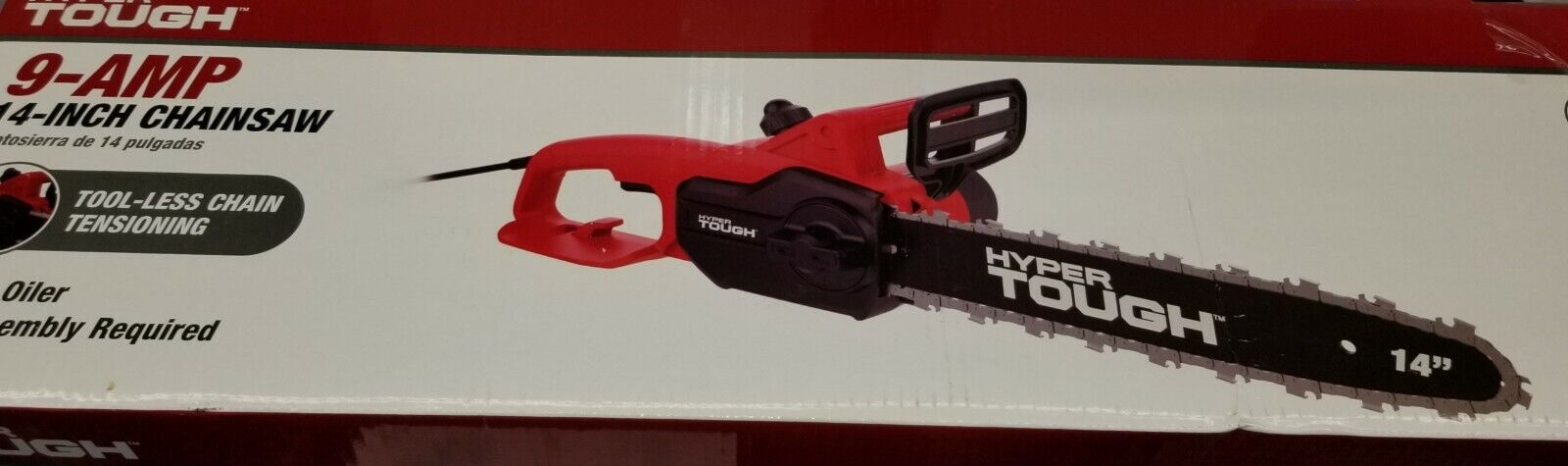 14 inch 9 amp electric chainsaw new