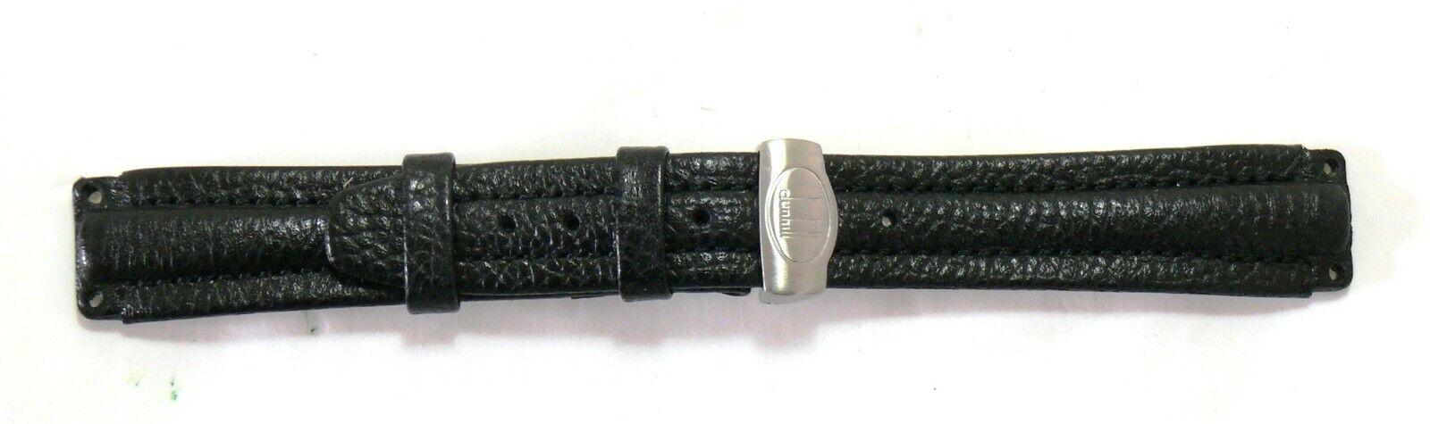 Genuine Alfred Dunhill Lederband mit Faltschliesse 4000AL NEU #33292-3