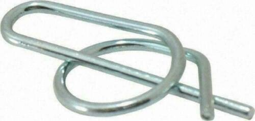 """5/16"""" Rue Ring, 1.044"""" Long, 0.047"""" Wire Diam, Locking Cotter Pin *Bag of 100*"""
