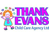 Nanny/Childcarer - Full & Part time hours, must have childcare experience