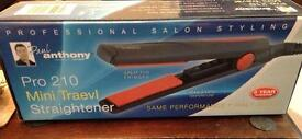 Paul Anthony Pro 210 Mini Travel Straightener/Curler