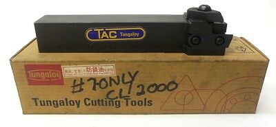 TAC TUNGALOY CUTTING TOOLS INSERT TURNING CUTTING TOOL HOLDER GX-2525LE, F75A
