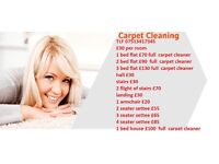 Carpet cleaner ALL WEST YORKSHIRE AREA COVER
