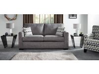 Now reduced by £100! Brand new sofabed and storage footstool - Attic Range from DFS