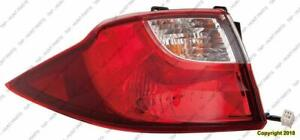 Tail Light Driver Side High Quality Mazda 5 2012-2015