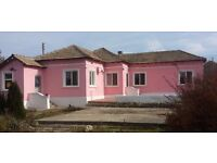 NOW REDUCED! BULGARIA: Beautiful 2 bedroom detached bungalow on over an acre of land.