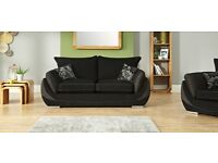 MATRIX SOFA UNIT SCS 2 SEATER+LARGE TWISTER CHAIR+FOOTSTOOL
