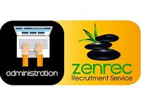 Office Administrator required (Full Time/Perm)