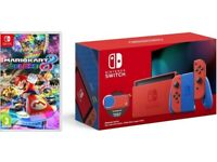 Nintendo Switch, Mariokart 8, Mario Red & Blue Edition, Brand New SOLD OUT, New Release