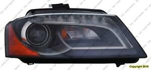 Head Lamp Passenger Side Xenon Without Curve High Quality Audi A3 2009-2013