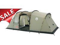 Tent - Coleman McKenzie Cabin 6 tent package