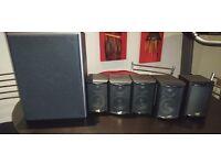 Rare M&K Miller and Kreisel Subwoofer + 5 Speakers