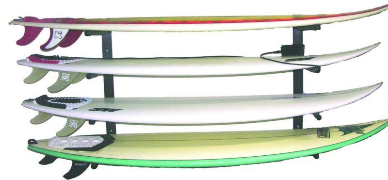 Reef Raxs surfboard wall rack quad 4 boards longboards  sup - Aluminum ARMS