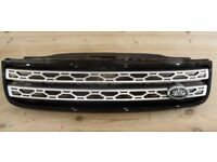 Front Grille from Dec 2017 Land Rover Discovery 5 HSE.