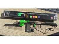 GTech 12V rechargeable HEDGE TRIMMER REDUCED NOW £25