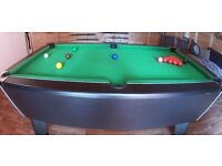 6 x 3 Good Condition Pool Table