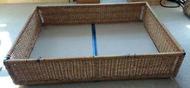 2 Ikea under bed storage baskets