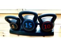 Brand new set of 3 weights