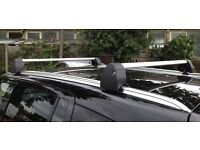 Genuine Vauxhall Zafira B Roof Bars With Factory Fit Roof Rails (93199522)