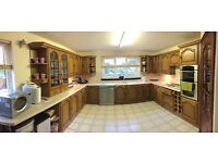 Fitted Kitchen Units - Good Condition - Double Oven, Hob & Dishwasher Included - Ready To Uplift