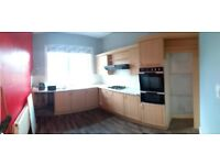 Fitted Kitchen Requiring Careful Removal for Reuse - Gas Hob and Sink in Good Condition