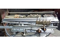 Brothers KR 830 knitting Machine and Ribber and Colour Changer