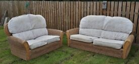 3 seater and 2 seater sofas. Kane conseratory furniture.