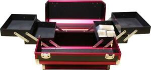 NEW FROM DEALER Makeup Case Black/Burgundy