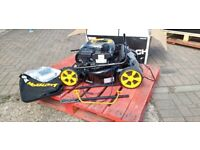 Mcculloch M46-110 Classic Petrol Rotary PUSH Lawnmower, 110cc-46cm (was £230)