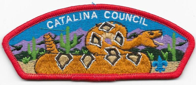 Catalina Council Arizona Strip RED Bdr CSP SAP Boy Scouts of America BSA