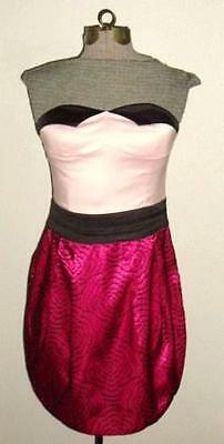 TCEC Strapless Retro Pin-Up Dress NWT SMALL
