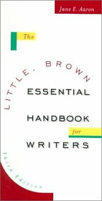 The Little  Brown Essential Handbook for Writers  3rd Edition