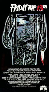 FRIDAY THE 13TH HORROR COLLECTION ON DVD