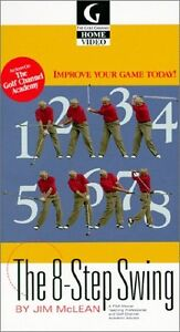 The 8-Step Swing by Jim McLean [VHS] 1999